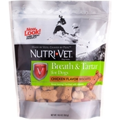 Nutri-Vet Breath and Tartar Control Dog Biscuits