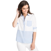 Vineyard Vines Colorblock Relaxed Oxford Button Down Shirt