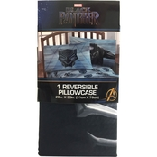 Marvel Black Panther Reversible Pillowcase