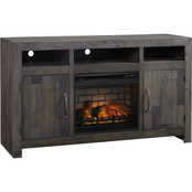 Ashley Mayflyn TV Stand with Fireplace Insert