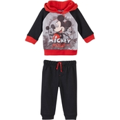 Disney Infant Boys Mickey Mouse Sublimated Fleece Jogger Set