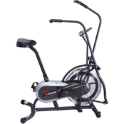 Sunny Health & Fitness Zephyr Air Bike, Fan Exercise Bike with Unlimited Resistance