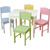 KidKraft Nantucket Table and Pastel Chair