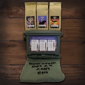 Fighting Force Ammo Can Sampler Kit with Large Tee