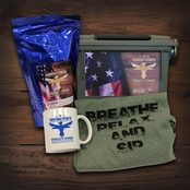 Fighting Force 1 lb. Ammo Can Kit with Extra Large Tee