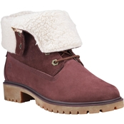 Timberland Jayne Teddy Fleece Fold-Down Boots