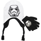 Star Wars Boys Stormtrooper Hat and Glove Set