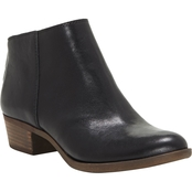 Lucky Brand Ankle Zip Back Booties