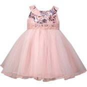 Bonnie Jean Infant Girls Lace Empire Social Dress