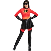 Morris Costumes Women's Mrs. Incredible Skirted Deluxe Costume
