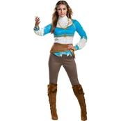 Morris Costumes Women's Zelda Breath Wild Costume