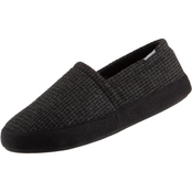 Isotoner Men's Evan Houndstooth Aline Slippers