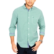 Nautica Stretch Gingham Shirt
