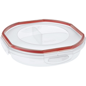 Sterilite Ultra Seal 4.8 Cup Round Divided Dish