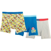 Pokemon Boys Boxer Briefs 3 pk., Size 8