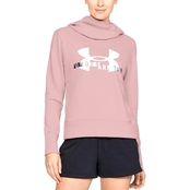 Under Armour Cotton Fleece Sports Style Logo Hoodie