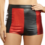 Dream Girl Women's Harlequin Shorts