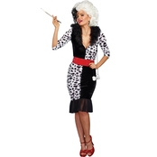 Dream Girls Women's Dalmatian Diva Costume