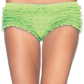 Leg Avenues Lace Ruffle Briefs