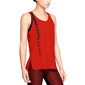 Under Armour HeatGear Armour Scoop Graphic Tank