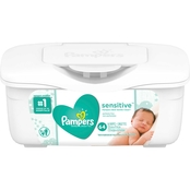 PAMPERS WIPES SENSITIVE TUB 64 CT