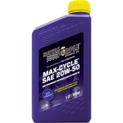 Royal Purple 20W-50 Max Cycle Synthetic Engine Oil, 1 Qt.