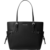 Michael Kors Women's Voyager East West Tote Bag Black