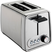 Hamilton Beach Modern Chrome 2 Slice Toaster