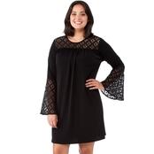 19c9b0d7528 Michael Kors Plus Size Lace Insert Dress