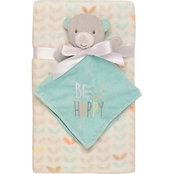 Baby Starters Bear Snuggle Buddy and Blanket 2 pc. Set