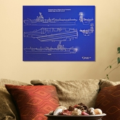 Chrome Domz SS Nimitz Cl Blueprint Art