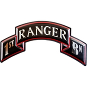 Chrome Domz Rangers 1st Embossed Wall Art Scroll