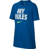 Nike Boys Dry My Rules Basketball Tee