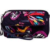 Vera Bradley Iconic RFID All in One Crossbody, Butterfly Flutter