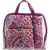 Vera Bradley Iconic 4 Pc. Cosmetic Set, Dream Tapestry