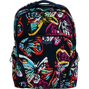 Vera Bradley Iconic Backpack, Butterfly Flutter