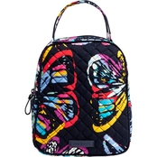 Vera Bradley Iconic Lunch Bunch, Butterfly Flutter
