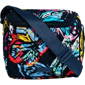 Vera Bradley Iconic Stay Cooler, Butterfly Flutter
