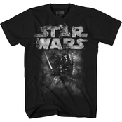 Disney Boys Darth Vader Smoking Logo Tee