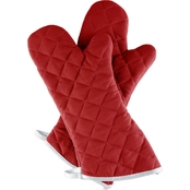 Lavish Home Oversized Oven Mitt 2 pc. Set