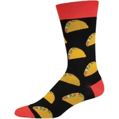 Socksmith Tacos Novelty Cotton Socks