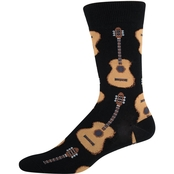 Socksmith Guitars Novelty Cotton Socks
