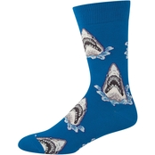 Socksmith Shark Attack Novelty Cotton Socks