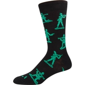 Socksmith Army Men Novelty Cotton Socks