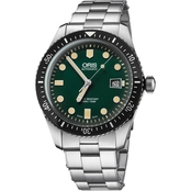 Oris Men's Diver 65 Watch 73377204057MB