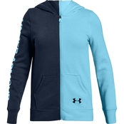 Under Armour Girls Rival Full Zip Jacket