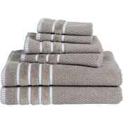 Lavish Home 12 Pc. Combed Cotton Towel Set