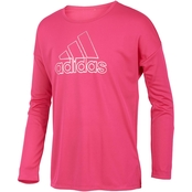 adidas Little Girls Graphic Tee