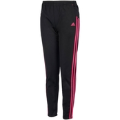 adidas Little Girls Warmup Tricot Pants