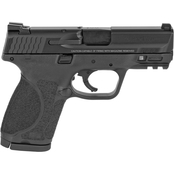 S&W M&P 2.0 9mm 3.6 in. Barrel 15 Rnd 2 Mag Pistol Black